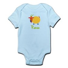 Renee The Capricorn Goat Infant Bodysuit