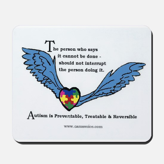 Mousepad; Autism is Treatable
