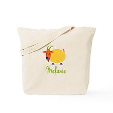 Melanie The Capricorn Goat Tote Bag