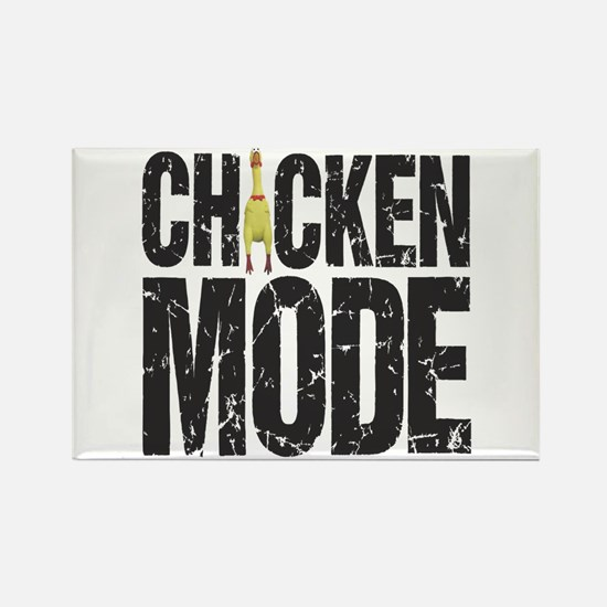 Chicken Mode Rectangle Magnet