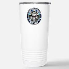 USN Cryptologic Technician Sk Travel Mug