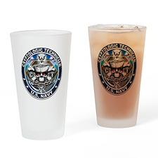 USN Cryptologic Technician Sk Drinking Glass