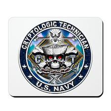 USN Cryptologic Technician Sk Mousepad