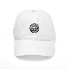 USN Culinary Specialist Skull Baseball Cap