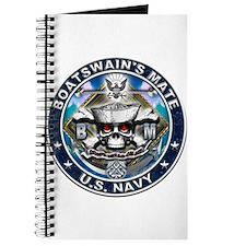 USN Boatswains Mate Skull BM Journal