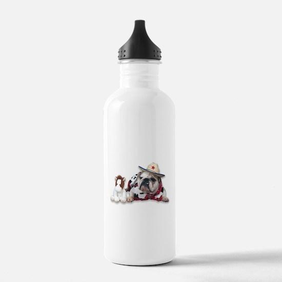 Cowgirl Water Bottle