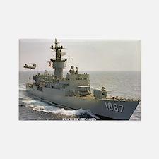 USS KIRK Rectangle Magnet