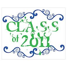 Fancy Senior Class 2011 Poster