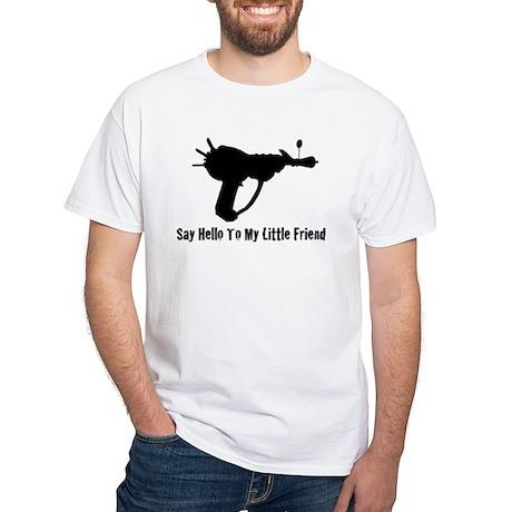 Ray Gun White T-Shirt
