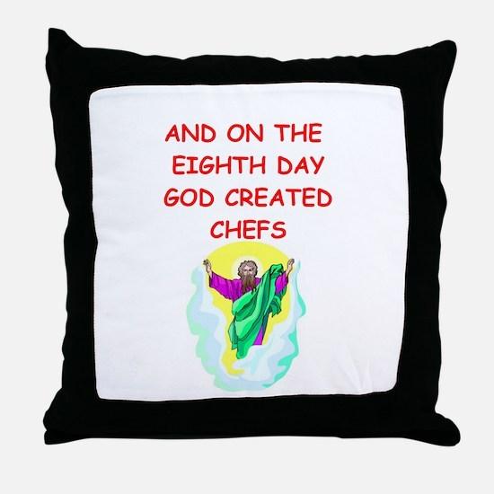 chefs Throw Pillow