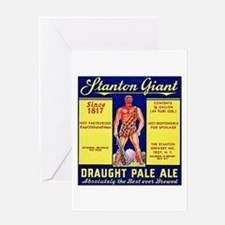 New York Beer Label 6 Greeting Card