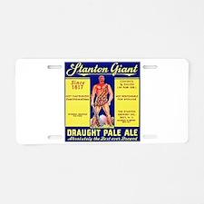 New York Beer Label 6 Aluminum License Plate