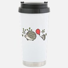 Baby Hedgehog's Red Balloon Travel Mug