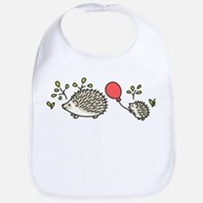 Baby Hedgehog's Red Balloon Bib