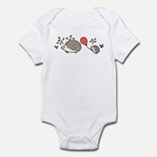 Baby Hedgehog's Red Balloon Infant Bodysuit