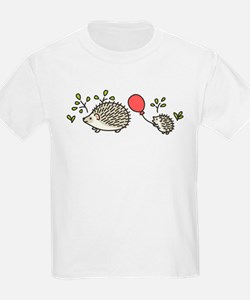 Baby Hedgehog's Red Balloon T-Shirt