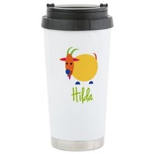 Hilda The Capricorn Goat Travel Mug