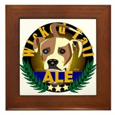 Wicked Tail Ale Framed Tile