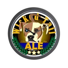 Wicked Tail Ale Wall Clock