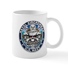 USN Naval Aircrewman Skull AW Small Mug
