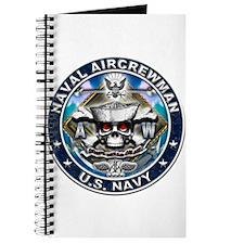 USN Naval Aircrewman Skull AW Journal