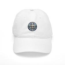 USN Naval Aircrewman Skull AW Baseball Cap