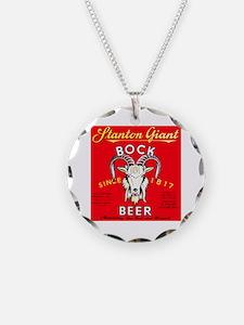 New York Beer Label 8 Necklace