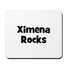 Ximena Rocks Mousepad