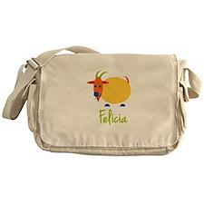 Felicia The Capricorn Goat Messenger Bag