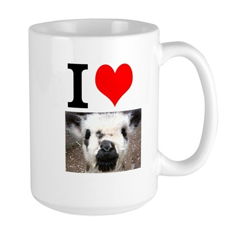 Pictures of Goats and Sheep w Large Mug