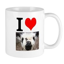 Pictures of Goats and Sheep w Mug