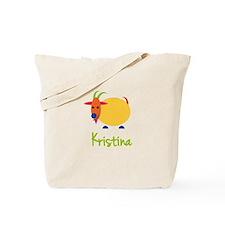 Kristina The Capricorn Goat Tote Bag