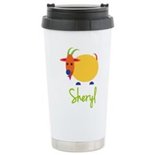 Sheryl The Capricorn Goat Travel Mug