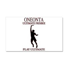 Oneonta Ultimate Frisbee Car Magnet 20 x 12