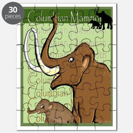 Columbian Mammoth and Baby Puzzle