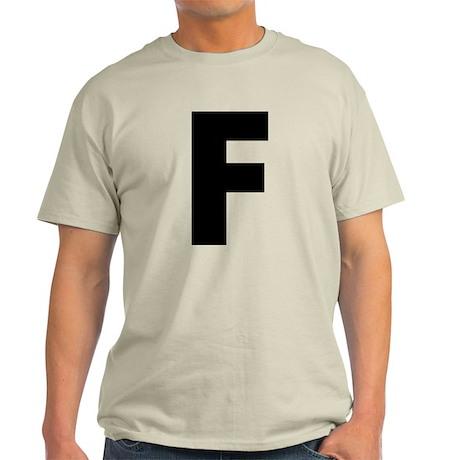 Letter F Light T-Shirt