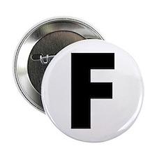 "Letter F 2.25"" Button"