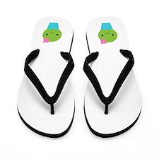 Cactus Flip Flops