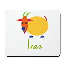 Inez The Capricorn Goat Mousepad