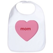 Candy Heart - Mom Bib