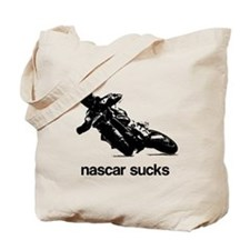 nascar sucks supermoto Tote Bag