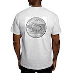 North Dakota State Quarter Ash Grey T-Shirt