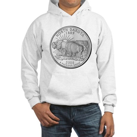 North Dakota State Quarter Hooded Sweatshirt