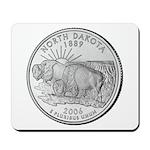 North Dakota State Quarter Mousepad