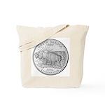 North Dakota State Quarter Tote Bag
