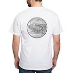 North Dakota State Quarter White T-Shirt