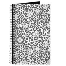 Floral Lace Pattern Journal