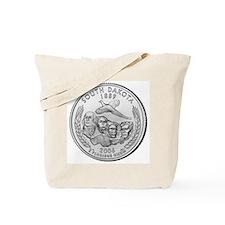 South Dakota State Quarter Tote Bag