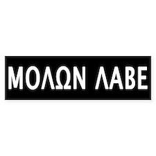 Molon Labe Car Sticker