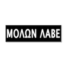 Molon Labe Car Magnet 10 x 3